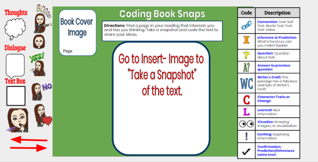 booksnaps template